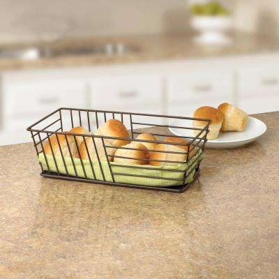 Wright Bronze Bread Basket