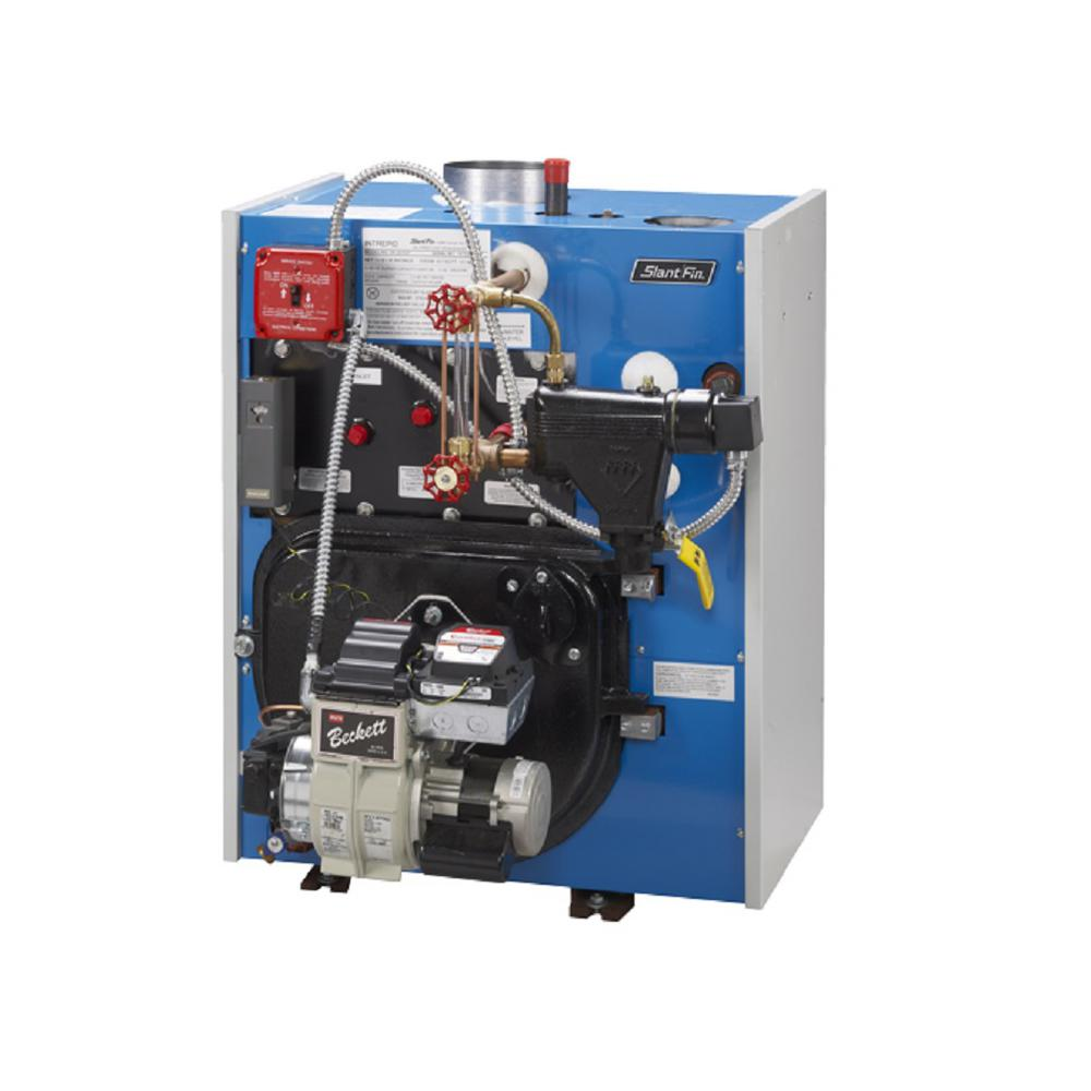 Slant/Fin Intrepid Oil Steam Boiler with 98,000 BTU Output-TR-30-PZ ...