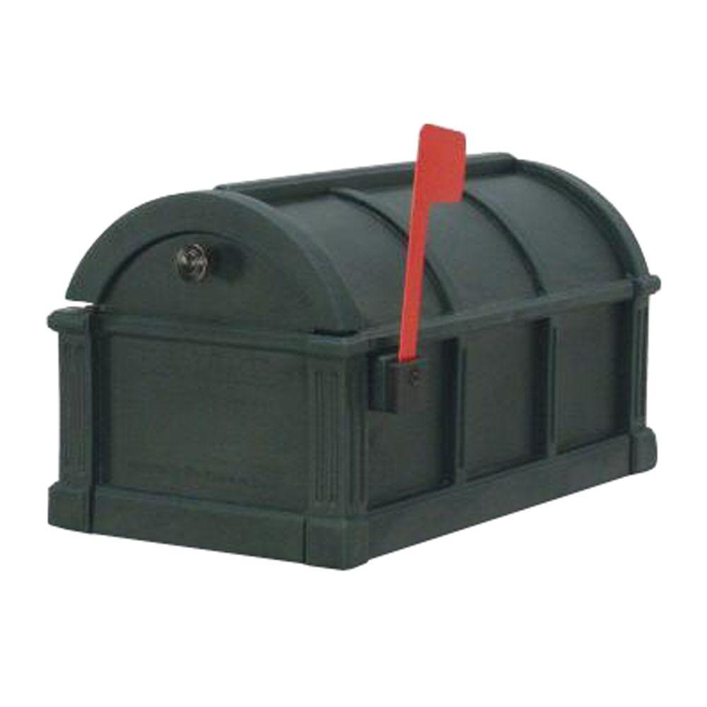 Postal Products Unlimited Sunset Pointe Mailbox in Green