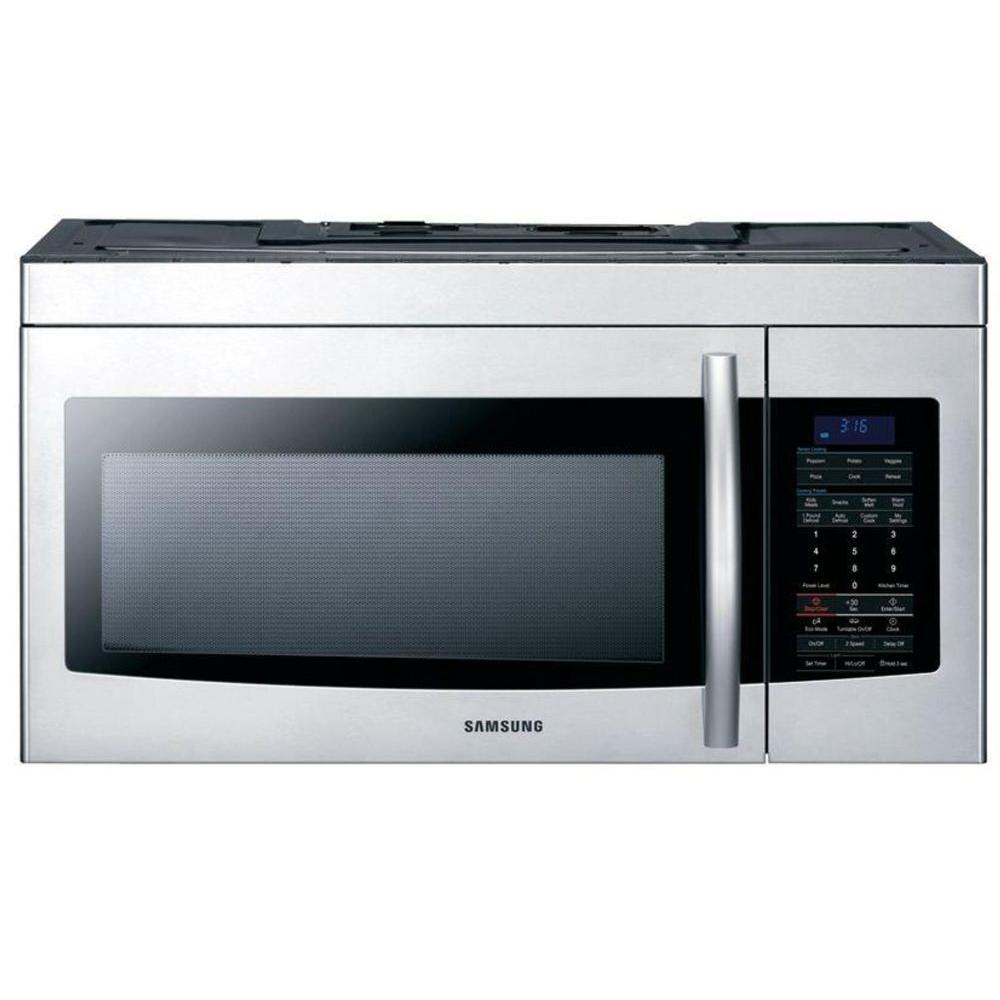 Samsung 1.7 cu. ft. Over the Range Microwave in Stainless Steel with Sensor Cooking-DISCONTINUED