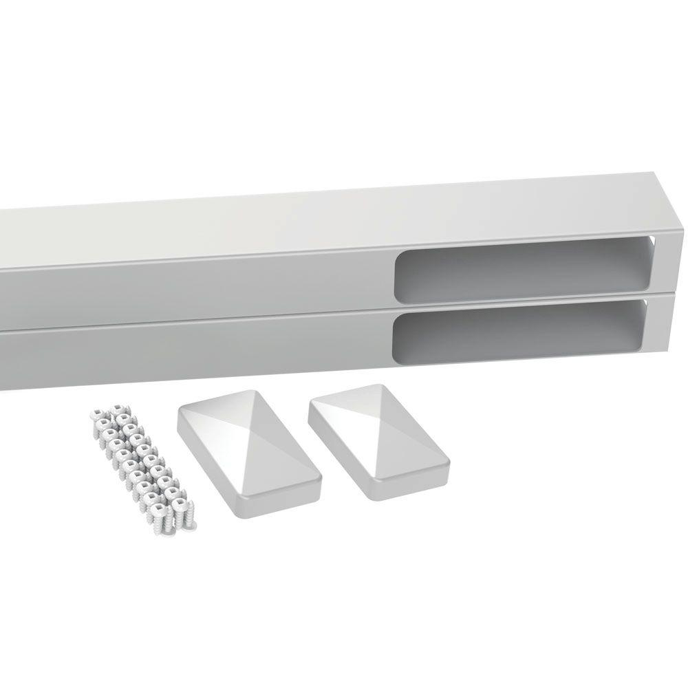 Veranda Linden 4 Ft W X 6 Ft H White Vinyl Fence Gate Frame Kit