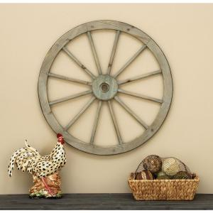 Click here to buy  30 inch Wagon Wheel Wall Hanging.