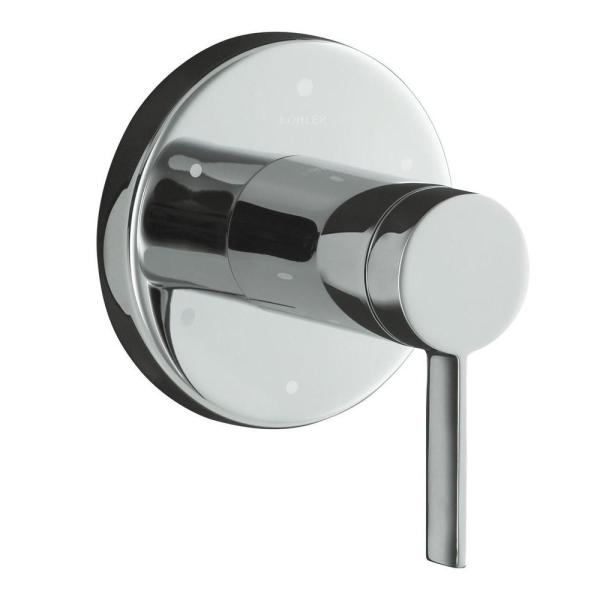 Stillness 1-Handle Transfer Valve Trim Kit in Polished Chrome (Valve Not Included)