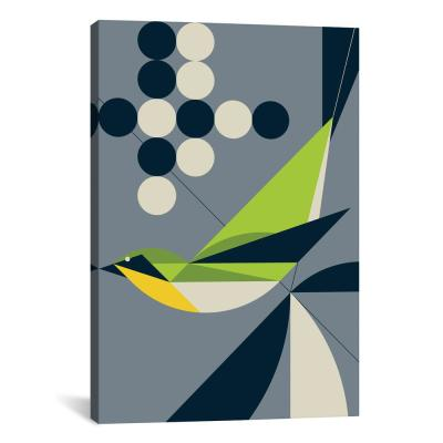 """Warbler"" by Greg Mably Canvas Wall Art"