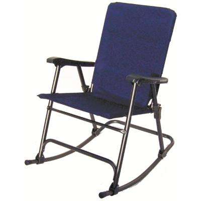 Elite Blue Folding Rocker