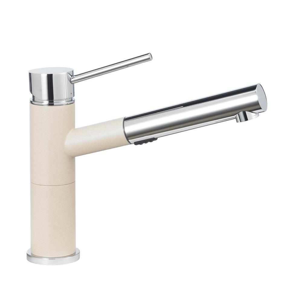 Alta Compact Single-Handle Pull-Out Sprayer Kitchen Faucet With 1.8 GPM In