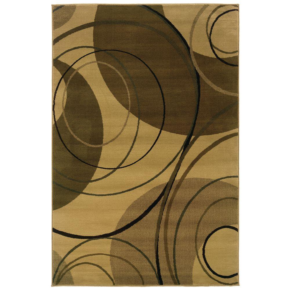 null Artisan Gyro Ivory 8 ft. 2 in. x 10 ft. Area Rug