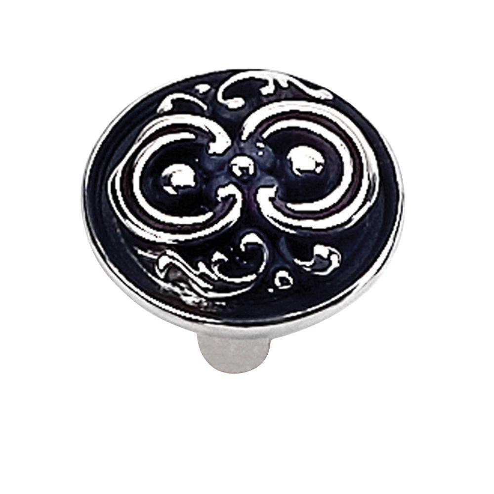 1-1/4 in. Pewter Cabinet Knob