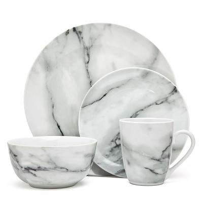 CARRERA MARBLE 16PC DINNER SET