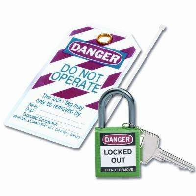 Compact Safety Padlock Kit - Green