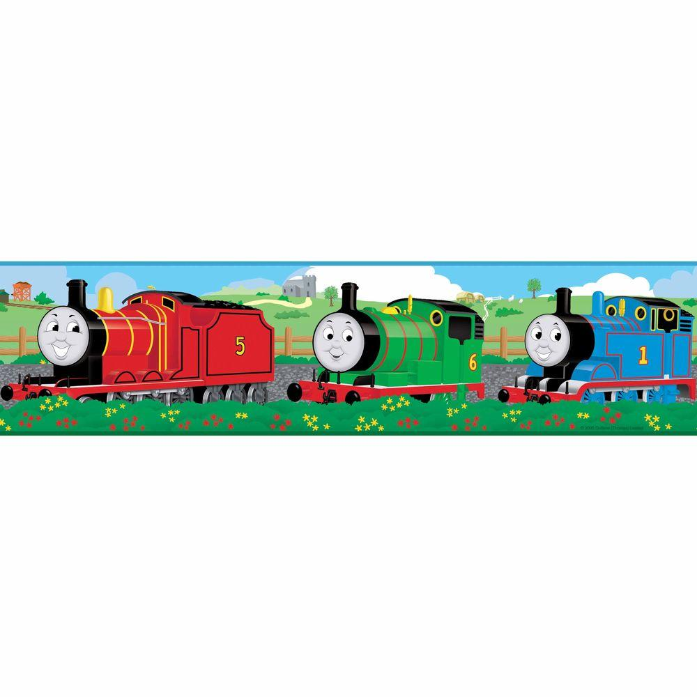 Roommates Thomas And Friends L Stick Wallpaper Border