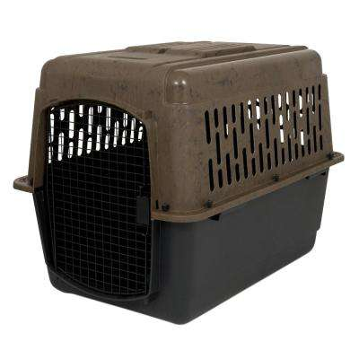 36 in. x 25 in. x 27 in. Camouflage Kennel