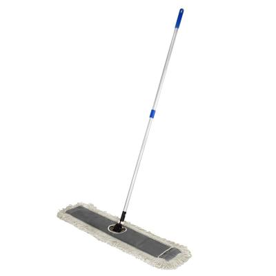 48 in. Cotton Dust Mop Set with Telescopic Handle