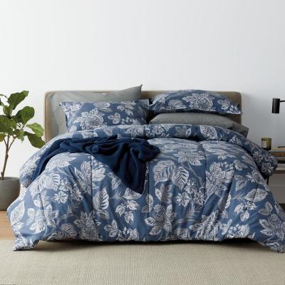 Leah 200-Thread Count Cotton Percale Comforter Set