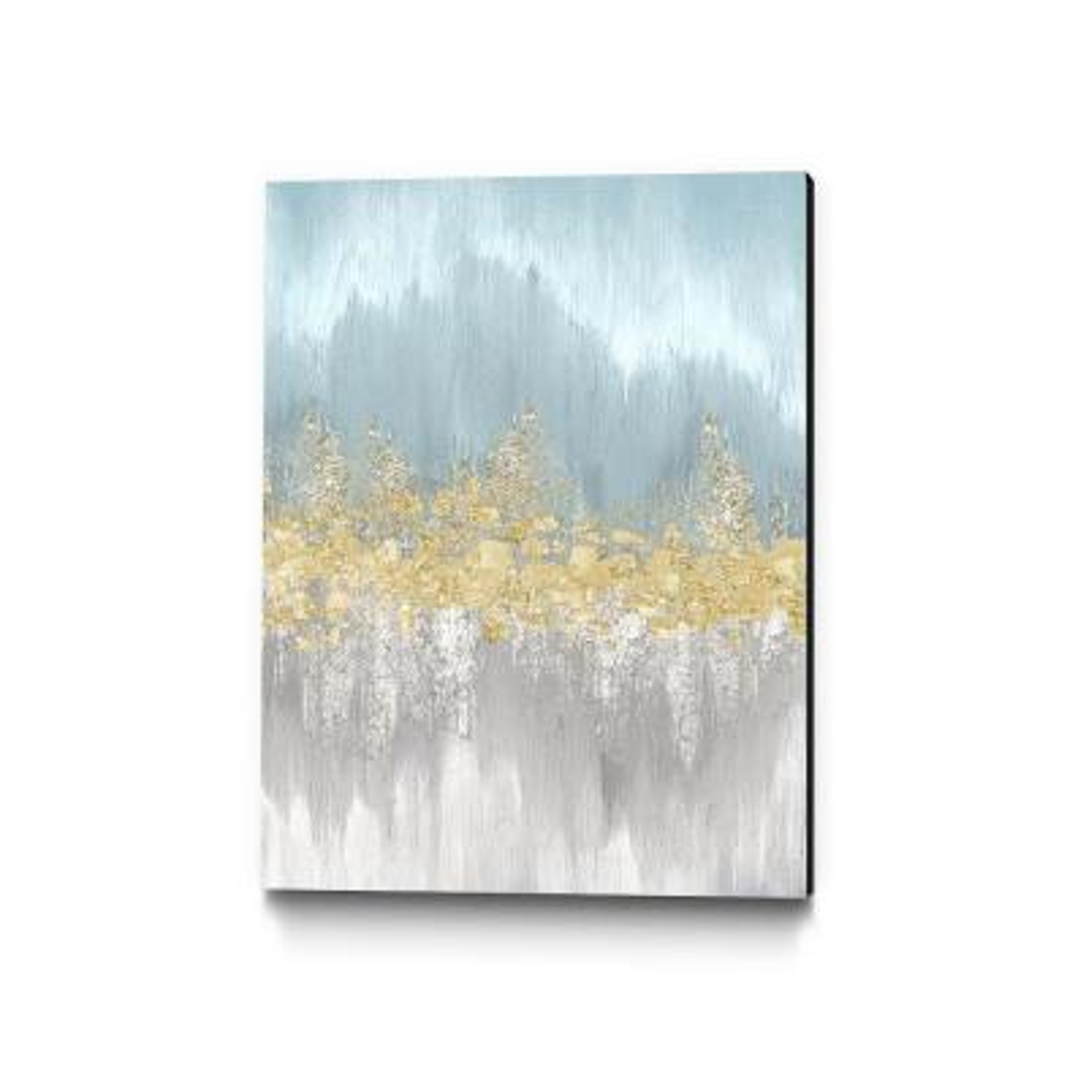 "30 in. x 40 in. ""Neutral Wave Lengths I"" by Eva Watts Wall Art"