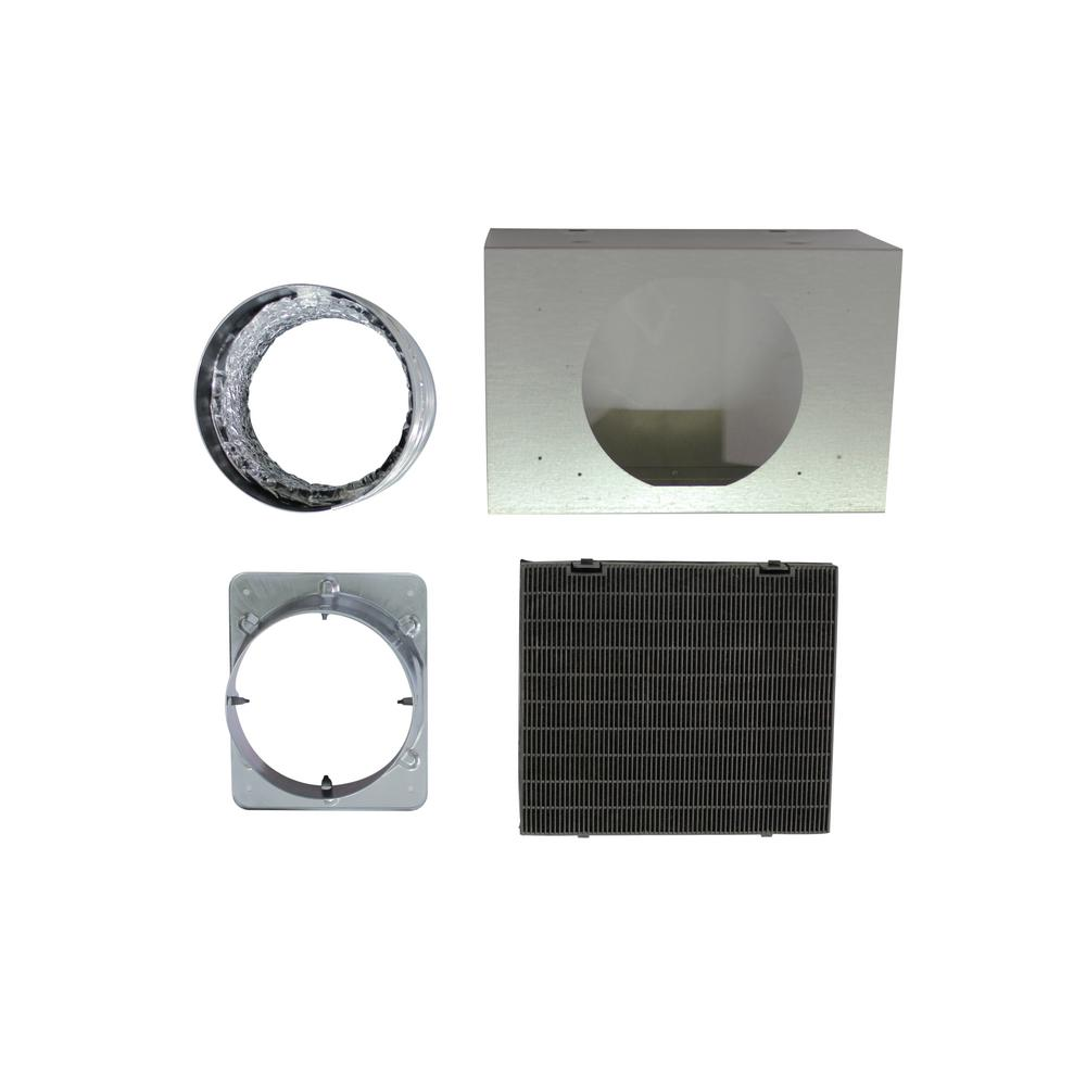 Ancona Non-Ducted Recirculating Kit for Wall Mount Pyrami...