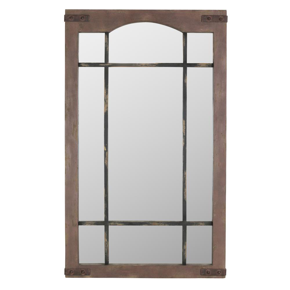Sheridan Faux Window Wall Mirror