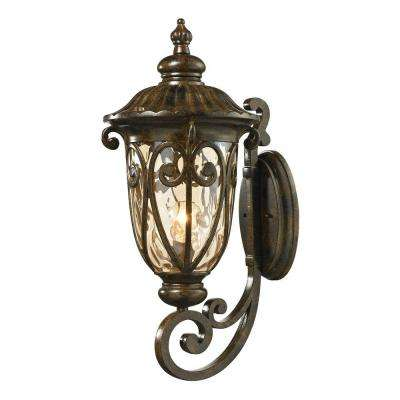 Chantal Collection Hazelnut Bronze Outdoor Sconce