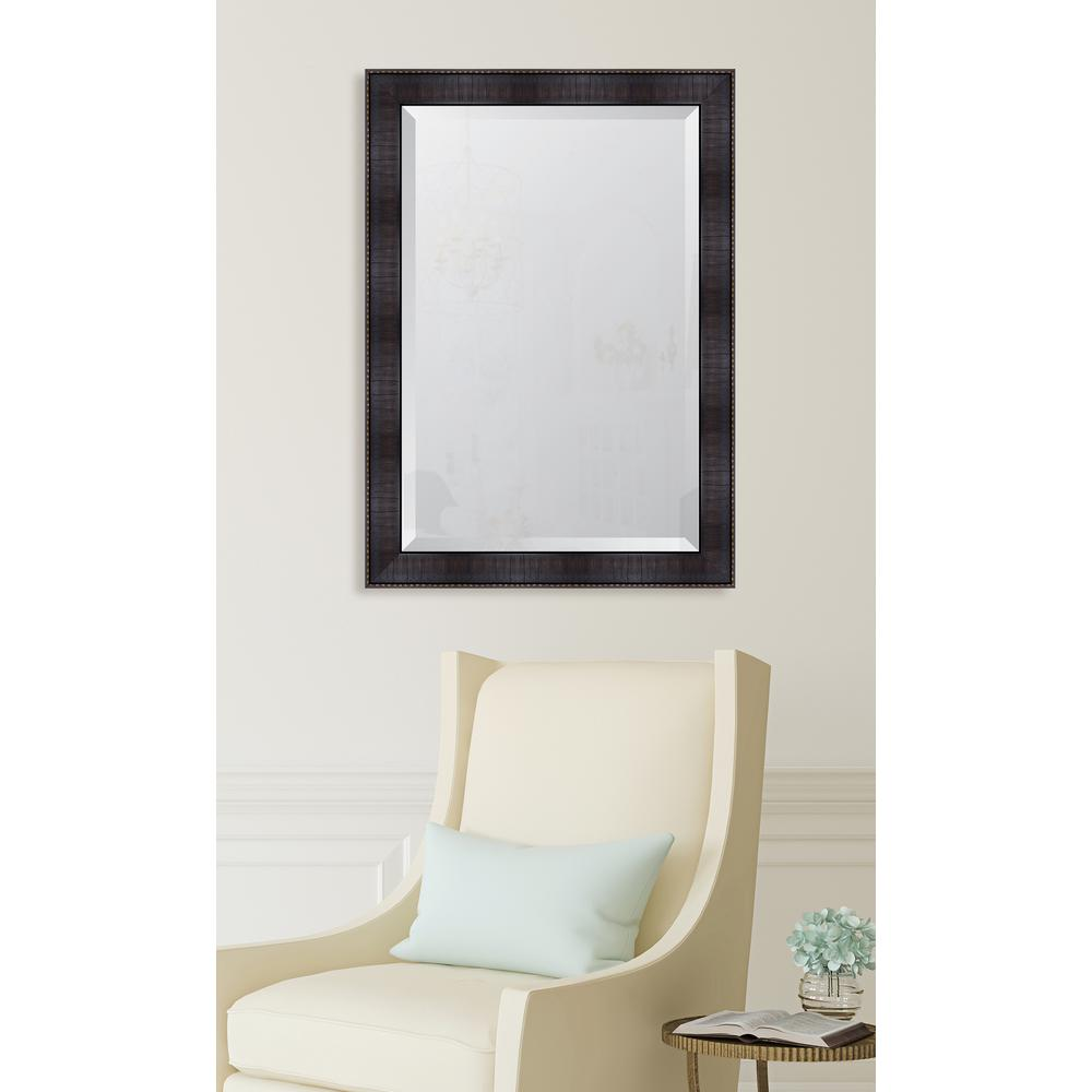 Melissa van hise 30 in x 42 in framed 3 espresso resin frame melissa van hise 30 in x 42 in framed 3 espresso resin frame mirror mir3172436 the home depot jeuxipadfo Image collections
