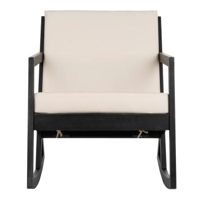 Admirable Hampton Bay White Wood Outdoor Rocking Chair 1 2 1200W The Home Interior And Landscaping Mentranervesignezvosmurscom
