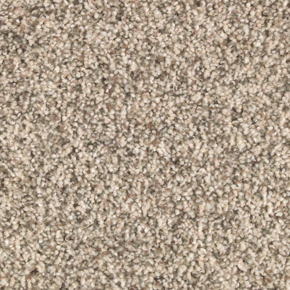 Carpet Sample - Tidal Pool - Color Buffed Textured 8 in. x 8 in.