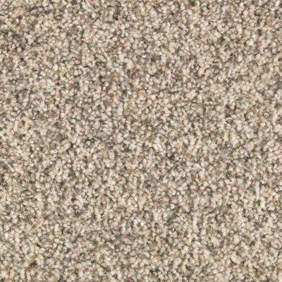 Carpet Sample - Tidal Pool - Color Buffed Textured 8 in. x 8 in.