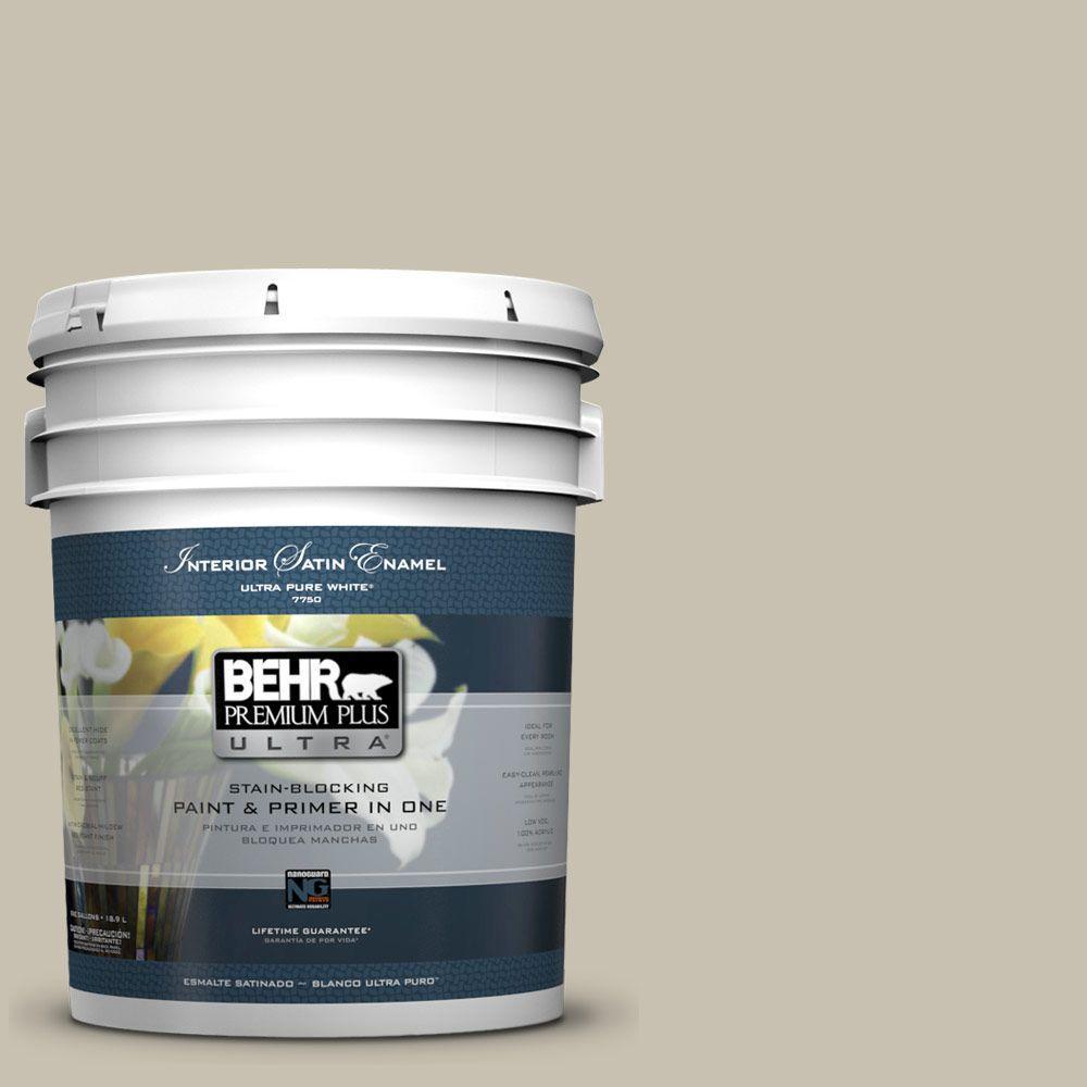 BEHR Premium Plus Ultra 5-gal. #T12-14 Livingstone Satin Enamel Interior Paint