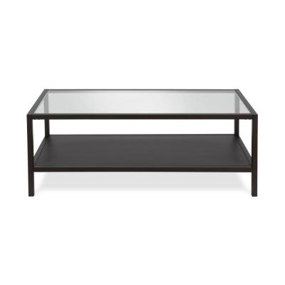 Rigan 17 in. Blackened Bronze Coffee Table