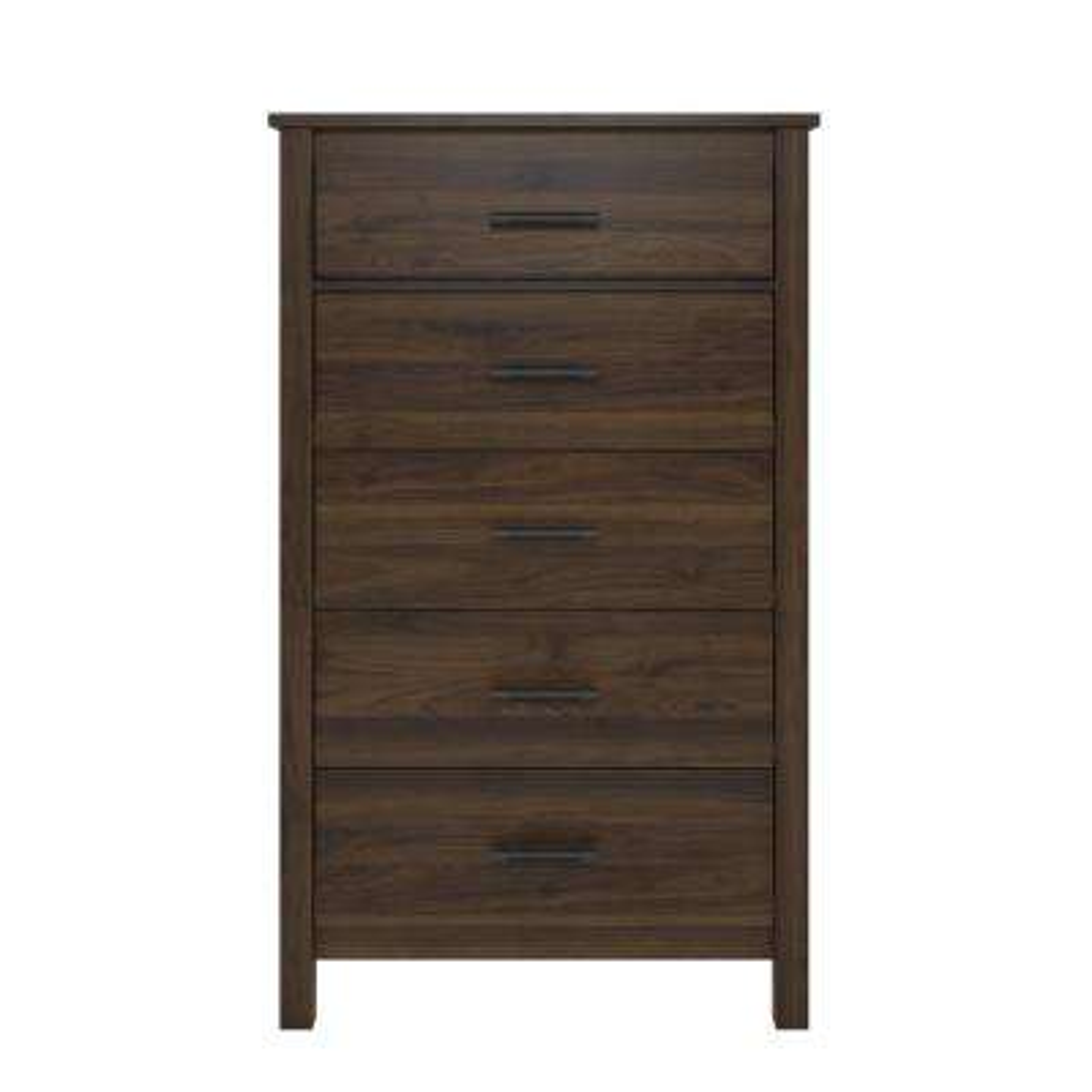Meadow Ridge 5-Drawer Walnut Dresser