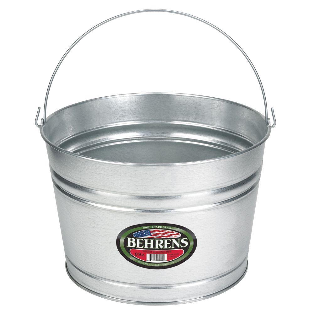 galvanized steel pail