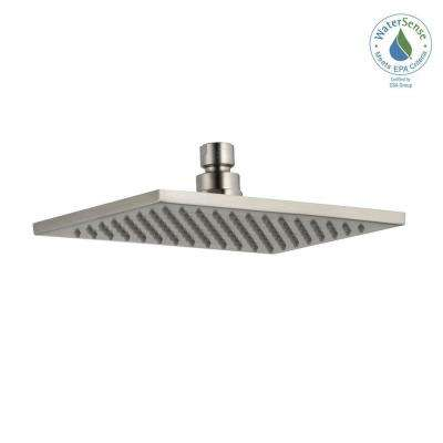 Vero 1-Spray 8.69 in. Fixed Showerhead in Stainless