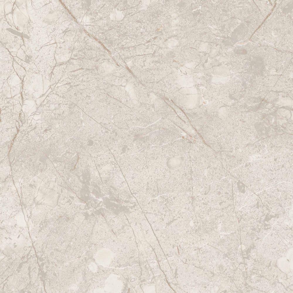 TrafficMASTER Ceramica Take Home Sample - Alpine Marble Vinyl Tile Flooring - 12 in. x 12 in.