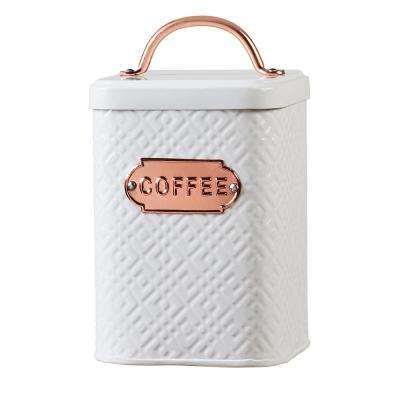 Ventana 60 oz. Metal Storage Canister with Coffee Label