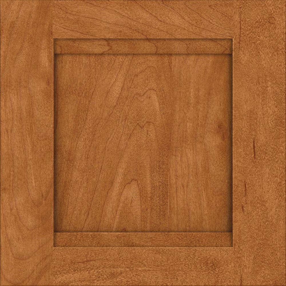 15x15 in. Cabinet Door Sample in Sonora Maple with Praline