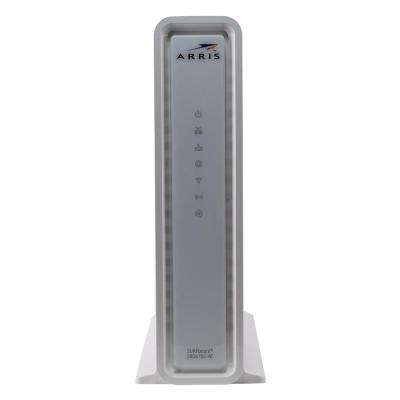 SURFboard DOCSIS 3.0 Cable Modem and Wi-Fi Router SBG6782-AC Refurbished