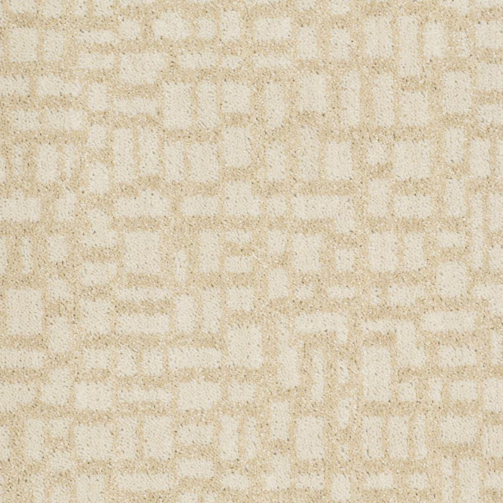 Martha Stewart Living Mount Brayburn - Color Hickory 6 in. x 9 in. Take Home Carpet Sample-DISCONTINUED