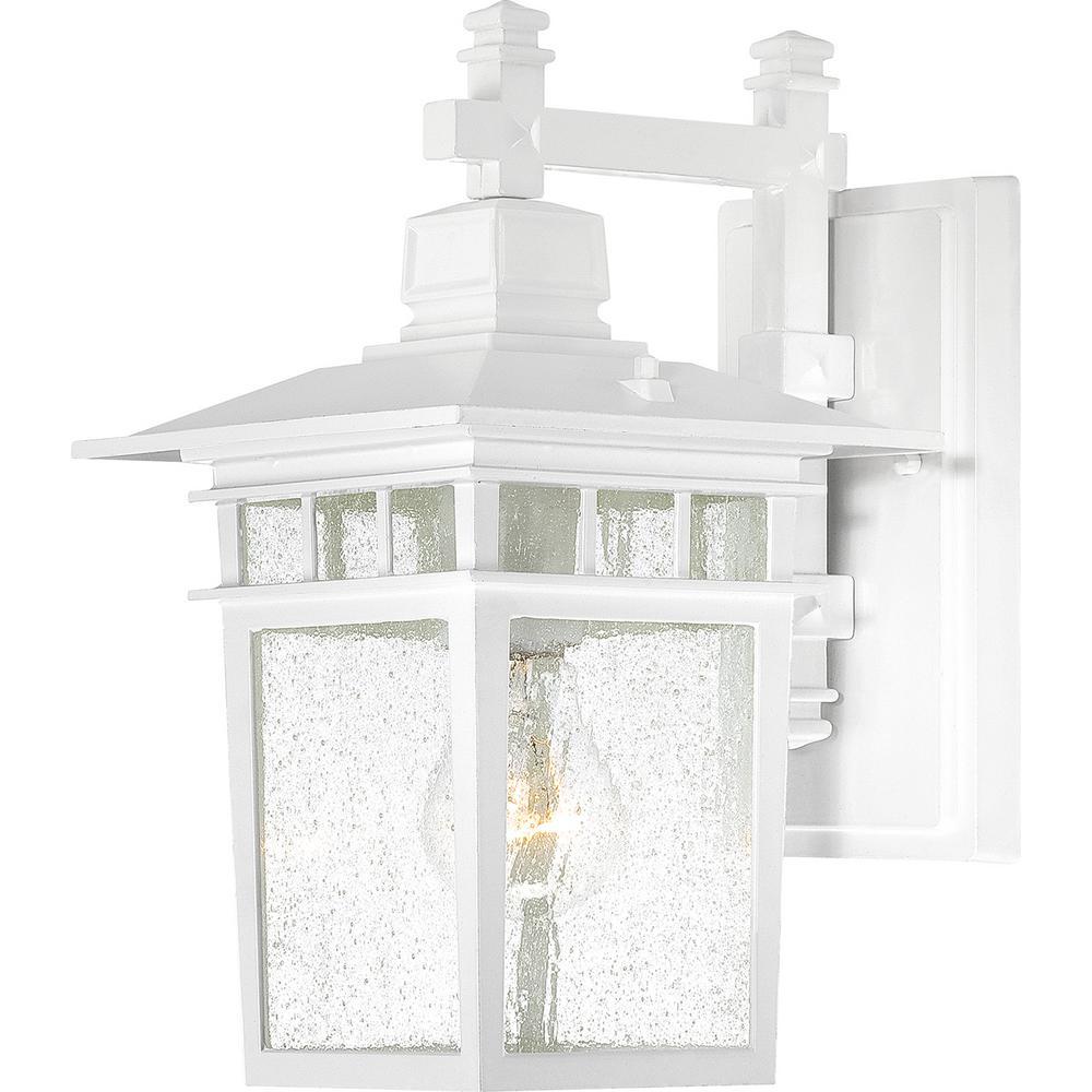 Connor White 1-Light Outdoor Hanging Lantern