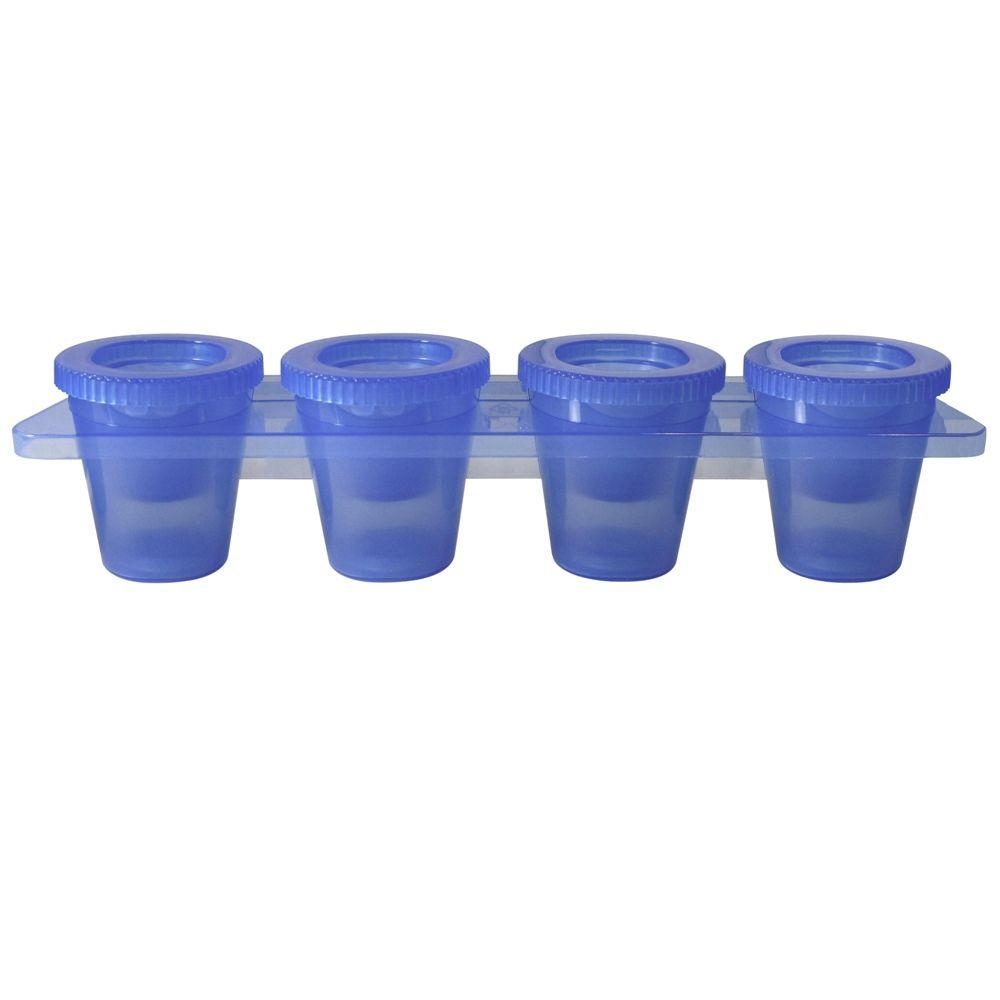Glass Molding Material : Epicureanist ice shot glass mold ep the home depot