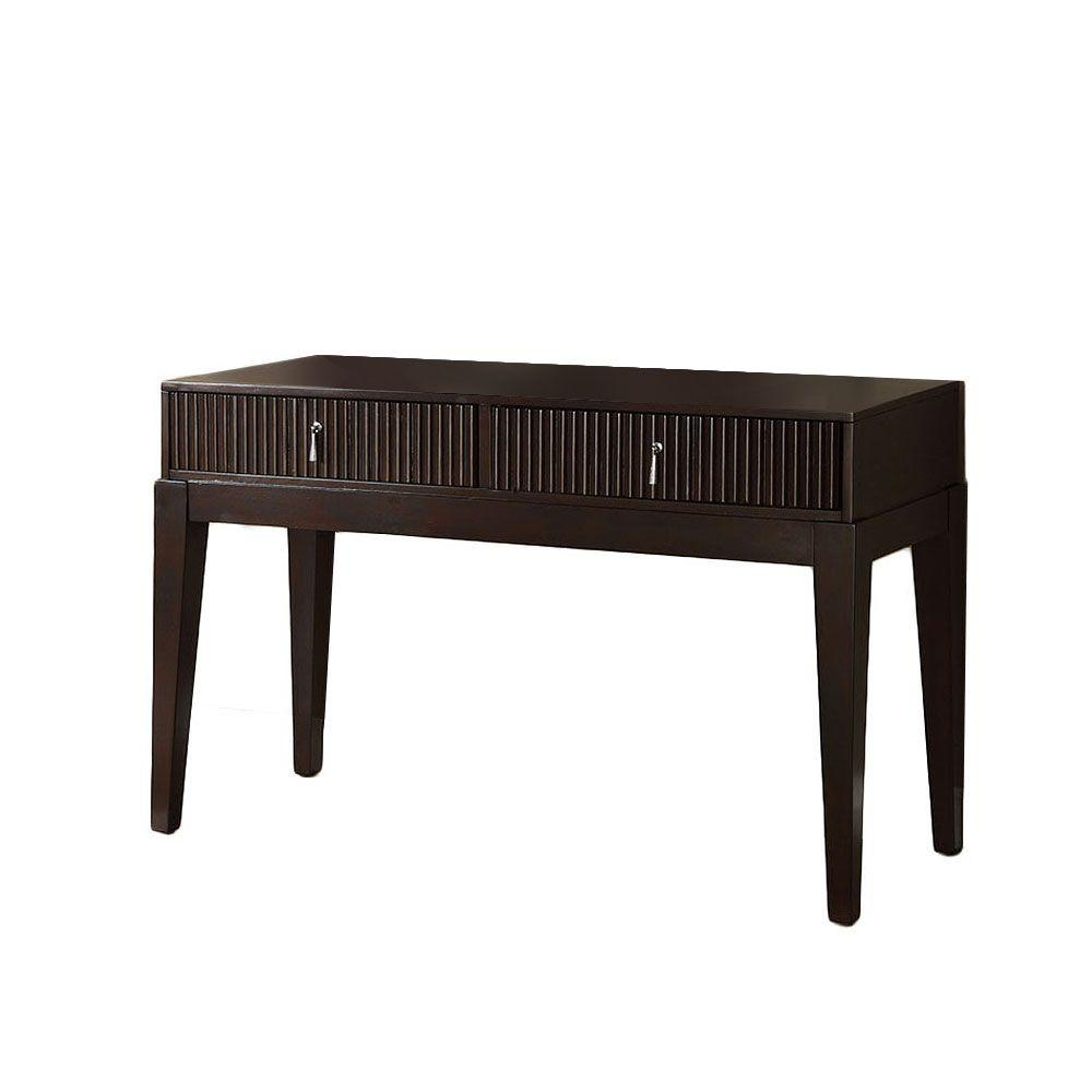 Furniture of America Torino Sofa Table in Dark Walnut