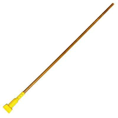 60 in. L Wide Natural Band Mop Handle