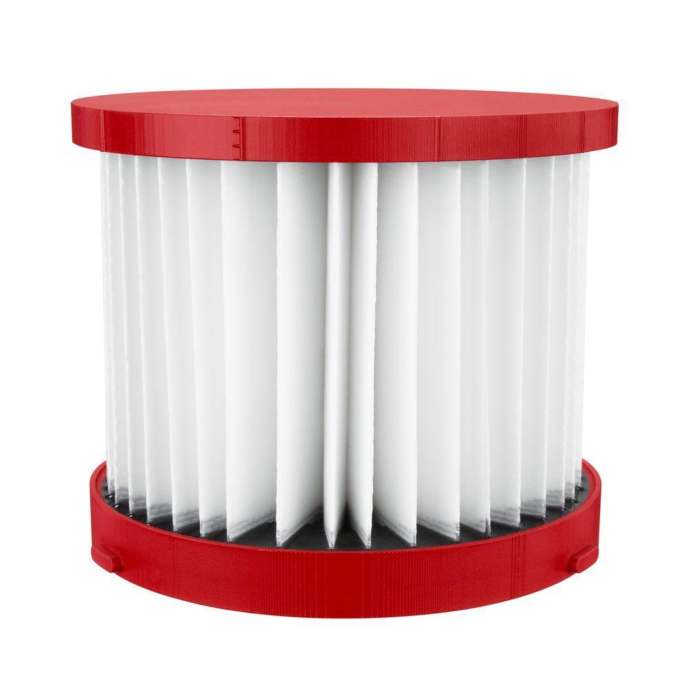 Milwaukee Milwaukee Wet/Dry HEPA Filter, Red