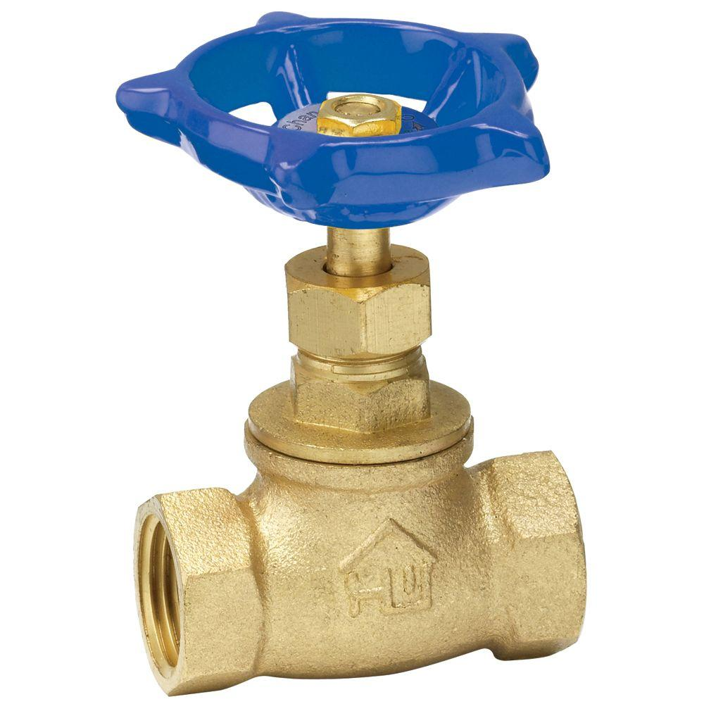 1/2 in. Brass FPT x FPT Stop Valve