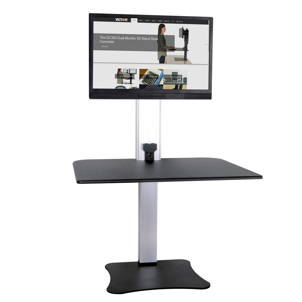 Victor Technology Electric Single Monitor Standing Desk
