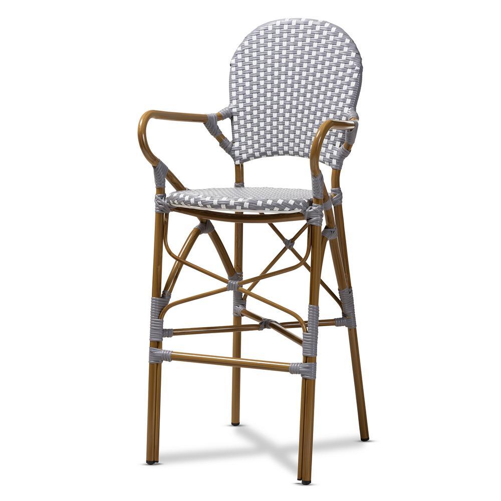 Superb Safavieh Franklin 24 4 In Weathered Oak Bar Stool Amh9504C Theyellowbook Wood Chair Design Ideas Theyellowbookinfo