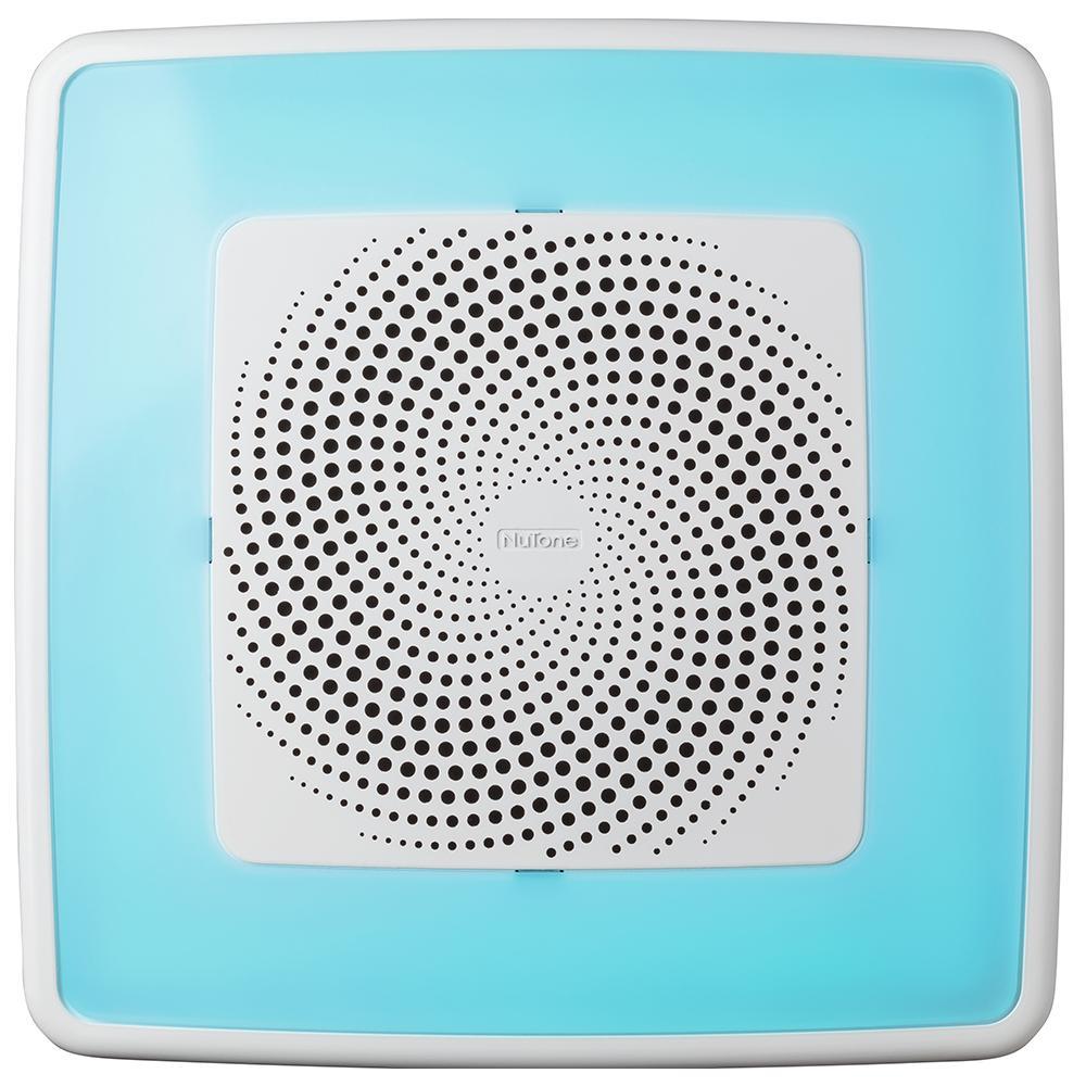 NuTone ChromaComfort 110 CFM Ceiling Bathroom Exhaust Fan ...