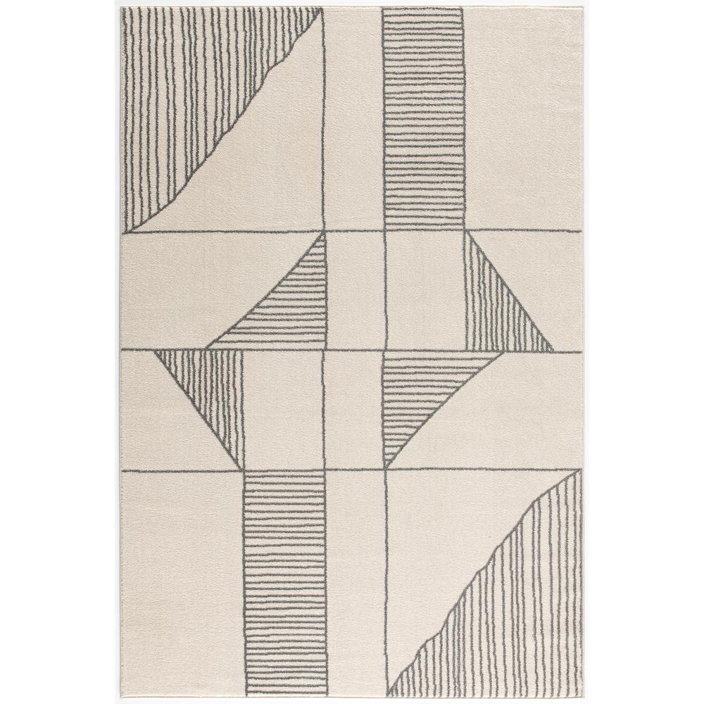 Siriat Off-White 6 ft. x 9 ft. Area Rug