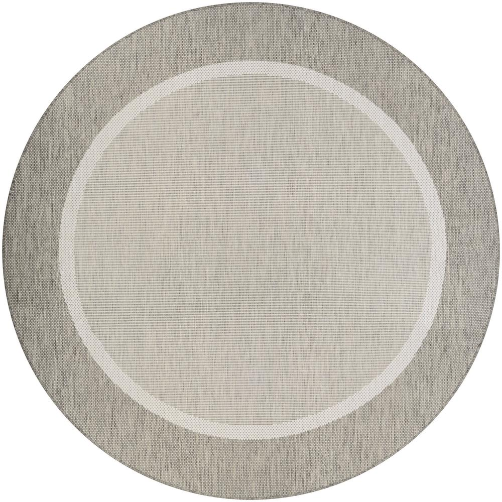Couristan Recife Stria Texture Champagne Taupe 8 Ft X 8 Ft Round