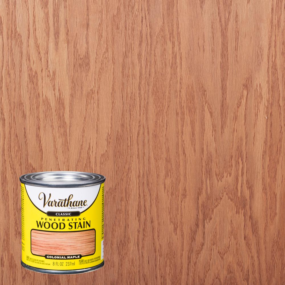 Varathane 8 oz. Colonial Maple Classic Wood Interior Stain