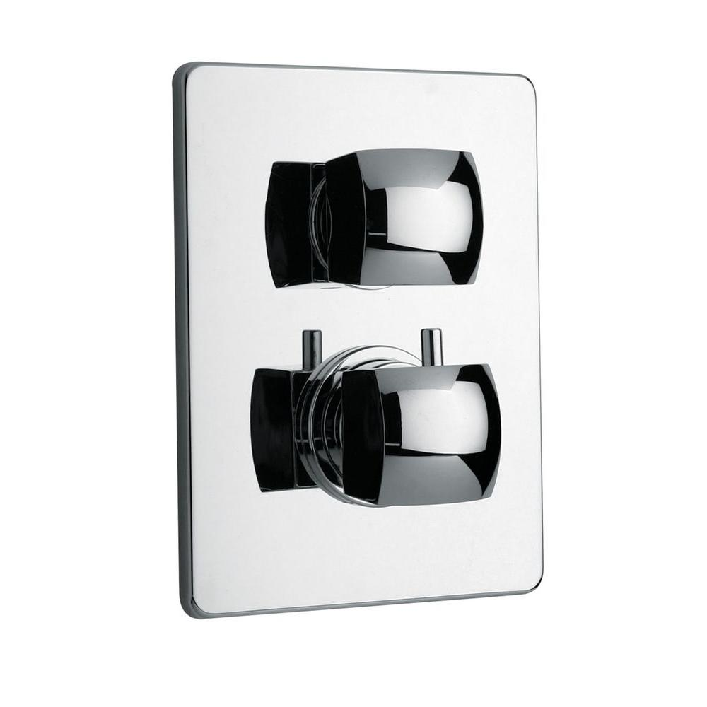 Latoscana Lady Thermostatic Shower Valve In Chrome 89cr690 The Home Depot