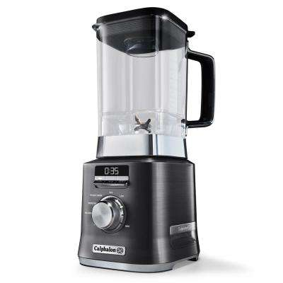 67 oz. 10-Speed Dark Stianless Steel Auto Speed Blender
